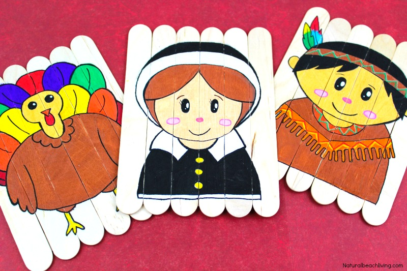 photograph about Thanksgiving Puzzles Printable Free referred to as Thanksgiving Preschool Actions - Do-it-yourself Thanksgiving Puzzles
