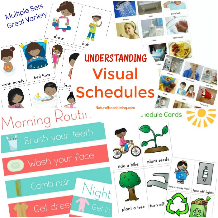 Visual Schedules The Easy to Follow Guide for Parents, Picture Visual Schedule Printable, Autism Visual Schedule, Free Printable Picture Schedule Cards, Understanding Visual Schedules and Benefits of Visual Schedules #Visualschedules #Autism #PECS