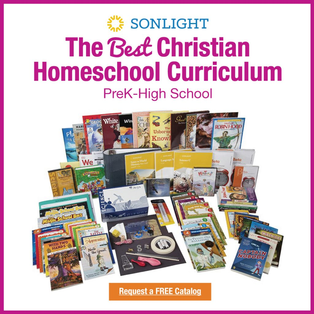 Homeschooling with Sonlight - Literature Based Homeschool