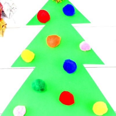Easy Christmas Color Matching Activities for Preschoolers & Toddlers