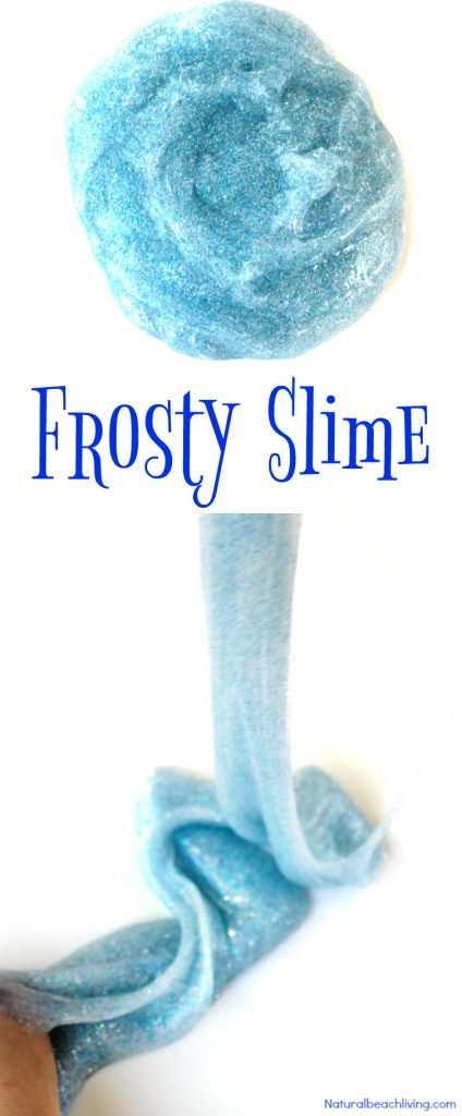 Make Easy Frosty Winter Slime, Winter Slime Recipe for Kids, Frosty Slime, This is a perfect Frozen Slime, Easy to Make Slime Recipes, Winter sensory play for kids, DIY Elmer's Frosty Slime Kit, Jiggly Slime Recipe is the Best! #Slimerecipes #Winterslime #frozenslime #wintersensoryplay