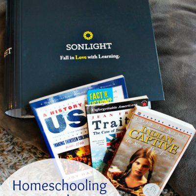 Homeschooling with Sonlight – Literature Based Homeschool Curriculum