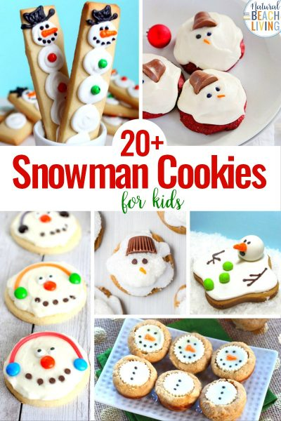 20+ Snowman Cookies You and Your Kids Will Love