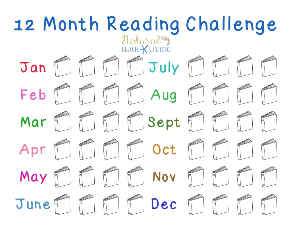 12 Month Reading Challenge To Start Right Now, A free Reading Challenge for kids, teens, and adults. Kids reading activities, free printables reading challenge ideas, Fun Book Ideas, Reading is important, Kids Books, Perfect for book groups, book clubs and more. Encourage and Motivate Kids to Read, Book Challenges for the whole year