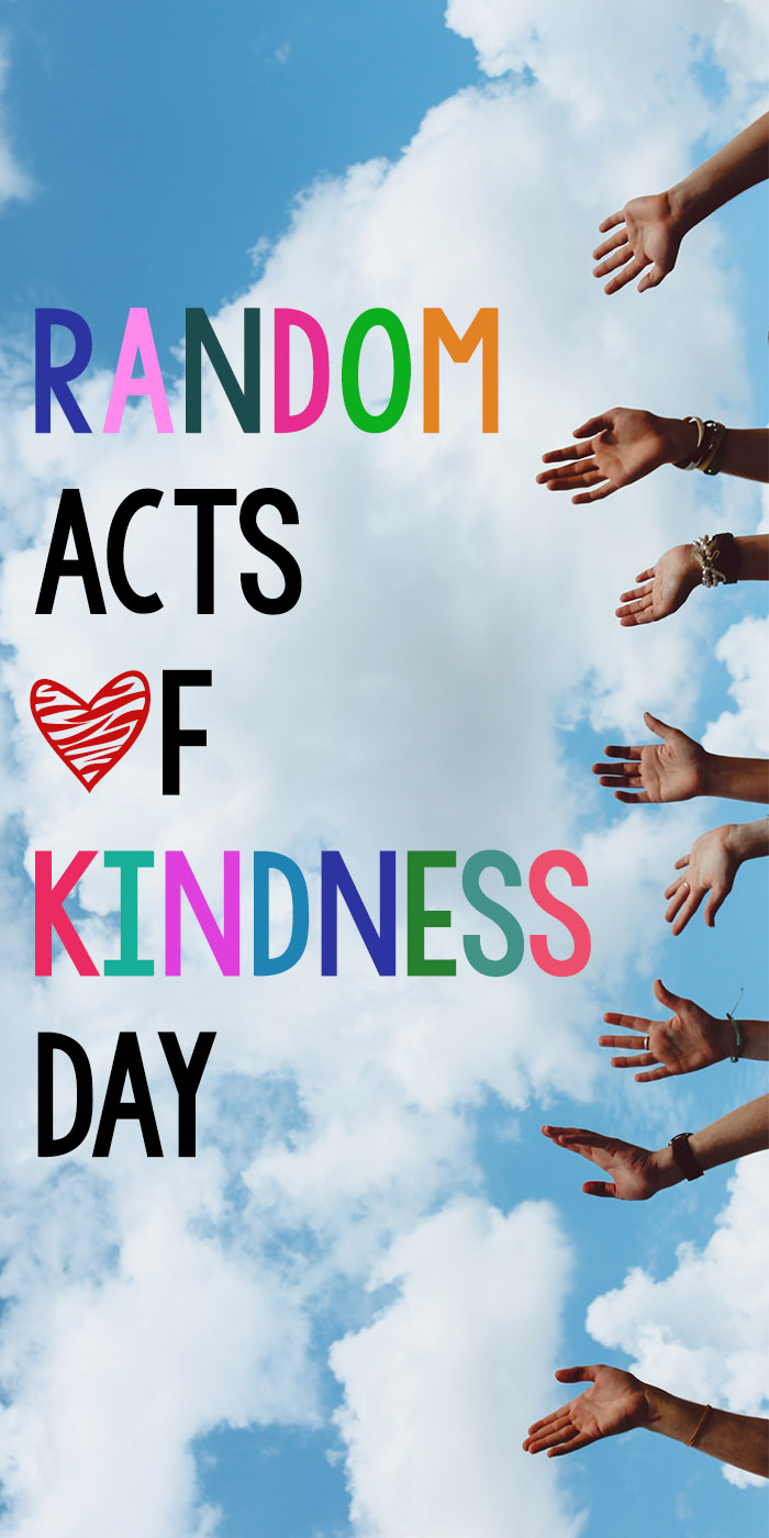 Random Acts of Kindness Day is a day to celebrate and encourage acts of kindness. If you're not sure what Random Acts of Kindness Day is you'll learn about it here along with over 100 Random Acts of Kindness ideas to Inspire and Promote Kindness