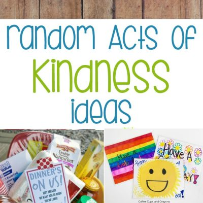 200+ Ideas for Random Acts of Kindness – Kindness Ideas
