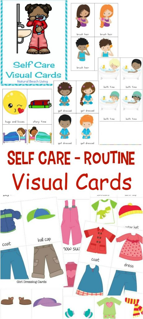 Self Care Routine Daily Visual Schedule Bundle, Help your child gain confidence and independence with this Self-Care Routine Visual Schedule, There are many Benefits of Self Care Visual Cards, Autism, Daily Routine Picture Cards