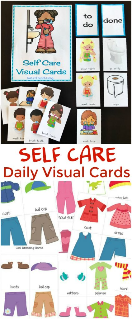 Routine Visual Printables for kids