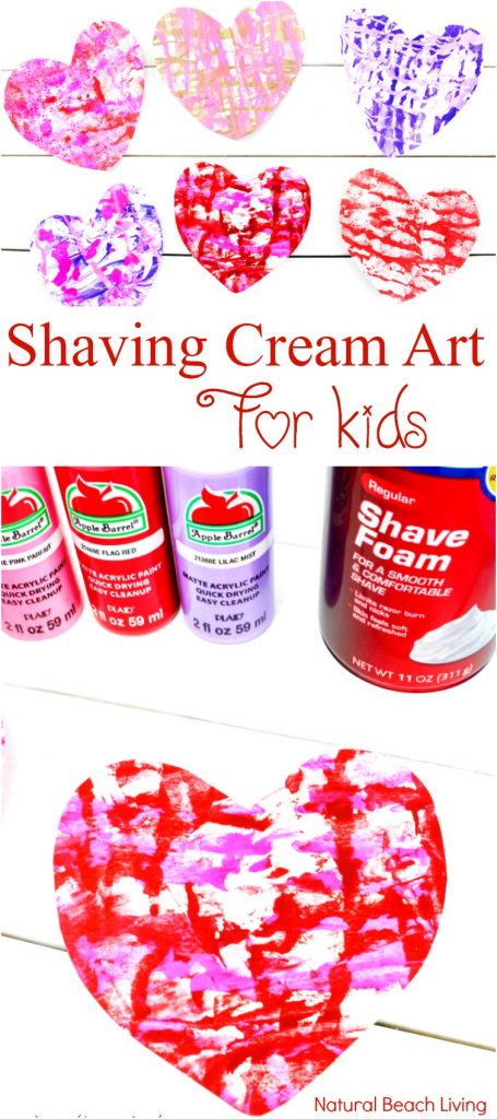 The Best Valentines Crafts for preschoolers, Shaving Cream Art, Marbled Paper Hearts, Easy art for preschoolers, DIY Marbled Paper, Shaving cream art for toddlers, Shaving cream marble art projects, Process art for preschoolers, Valentine's Day Art for kids, Preschool Valentine cards