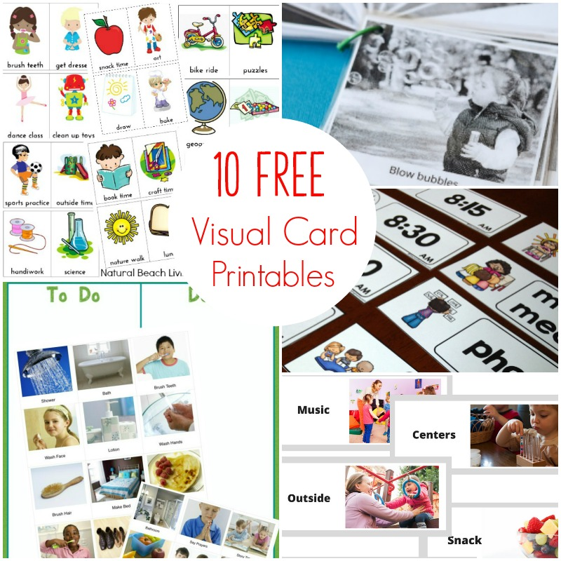photograph regarding Free Printable Visual Schedule for Preschool identify 10+ Free of charge Autism Visible Program Printables Toward Check out Straight By now