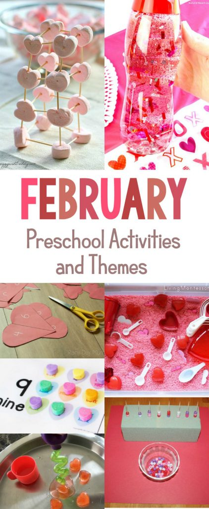 The Best February Preschool Activities and Themes for Preschool, fun Valentine's Day activities, heart crafts, Valentine's Day Science, Looking for Random acts of kindness ideas, groundhog day preschool, This page is filled with great Preschool Activities and themes, February Themes for Kindergarten, February Theme Ideas, Preschool Themes