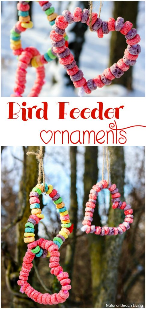 Easy Kid Made Bird Feeder Ornaments Everyone Loves, Heart Bird Treats, Easy bird feeder crafts preschoolers make, Perfect Valentine's Day activity for kids, Easy Homemade Bird Feeder Ornaments, This is a great winter activity for kids, Birdseed ornaments, DIY Bird Feeder for kids to make, Nature activities for kids, How to Make Bird Treats, How to Make Bird Feeder Ornaments with Kids, Birdseed Ornaments Recipe #birdseedornaments #Birdtreats #homemadebirdfeeders #birds #bird #Valentinesday #valentinecraft