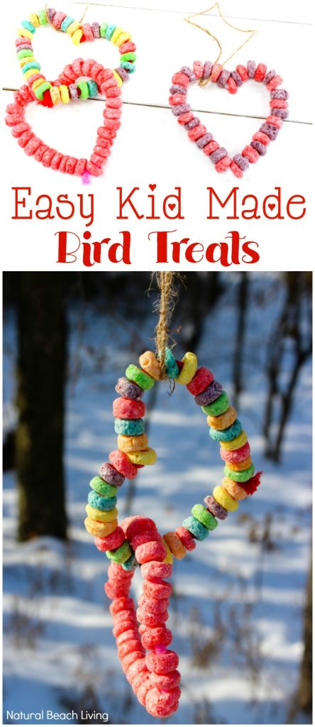 Easy Kid Made Bird Feeder Ornaments Everyone Loves, Easy Heart Bird Feeder craft preschoolers can make, Heart bird feeder ornaments, Perfect Valentine's Day activity for kids, Easy Homemade Bird Feeder Ornaments, This is a great winter activity for kids, Birdseed ornaments, DIY Bird Feeder for kids to make, Nature activities for kids, How to Make Bird Treats, How to Make Bird Feeder Ornaments with Kids, Birdseed Ornaments Recipe #birdseedornaments #Birdtreats #homemadebirdfeeders #birds #bird #valentinecraft