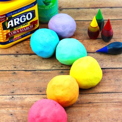 How to Make Shaving Cream Play dough Recipe – Rainbow Foam Dough