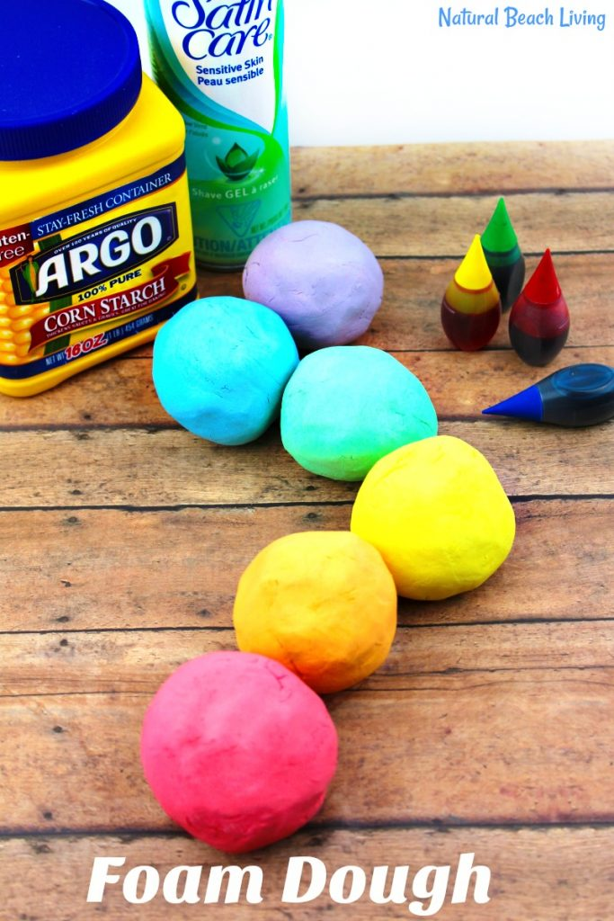 How to Make The Best Shaving Cream Play dough Recipe - Easy Foam Dough, Shaving Cream Playdough Recipe, Homemade Playdough Recipe, Foam Dough Recipe, Rainbow Foam Dough, No Cook Playdough recipe, Soft Silky Playdough Sensory Play that feels amazing! Spring activities for kids, Rainbow Theme, Easy Playdough Recipe, #playdough #sensoryplay #playdoughrecipe