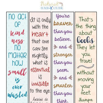 Free Random Acts of Kindness Printable Bookmarks