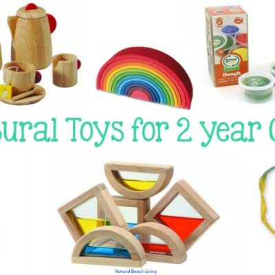 Best Natural Toys for 2 Year Olds