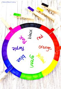 Teaching Colors Activities Easy DIY Color Matching Craft