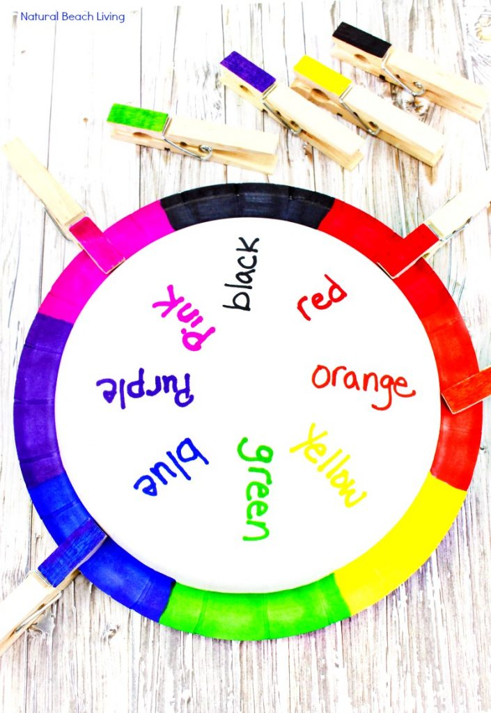 Teaching Colors Activities, DIY Color Matching Craft, Teaching Colors, Teaching Color Activities to Preschoolers, Color Sorting Activities, Sorting Colors Activities, Color Matching for toddlers, DIY Color Craft, Color Matching Crafts, Color Activities for Preschool, Hands-on Learning Activities to help teach kids about COLORS in Preschool and Kindergarten.