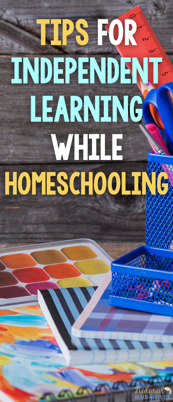 Tips for Independent Learning While Homeschooling