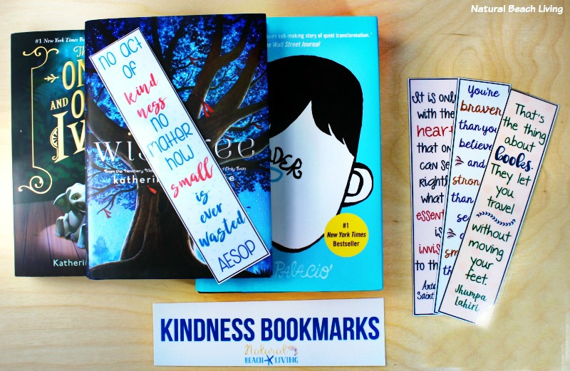 photo about Free Printable Bookmarks With Quotes referred to as No cost Random Functions of Kindness Printable Bookmarks - Organic and natural