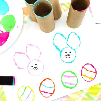 Easy Easter Bunny Crafts for Preschoolers