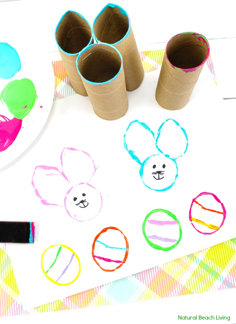 Easy Easter Bunny Crafts For Preschoolers Natural Beach Living