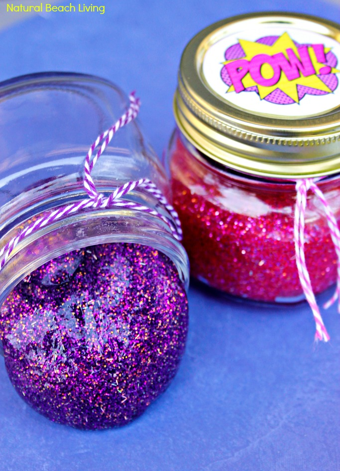 image regarding Slime Recipe Printable identify How towards Produce Slime with Get hold of Strategy - Superhero Glitter