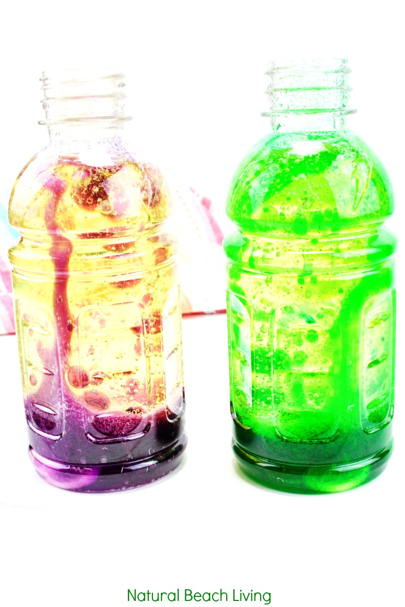 Lava Lamp Science Project – How to Make a Lava Lamp