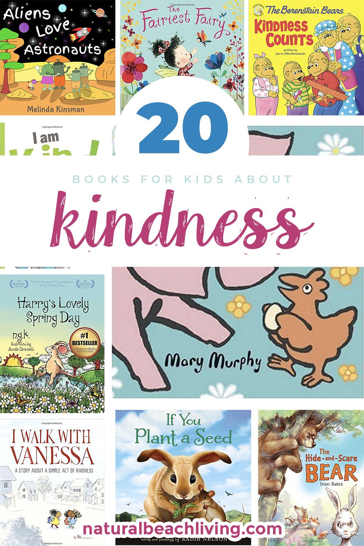 25+ Kindness Books for Children