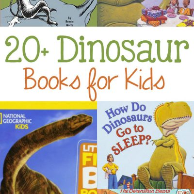 24+ Dinosaur Books for Kids
