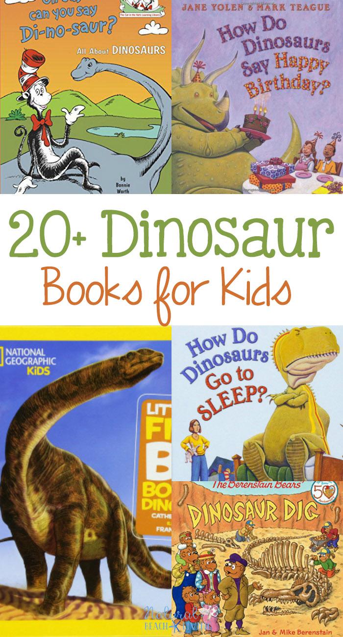 24+ Dinosaur Books for Kids