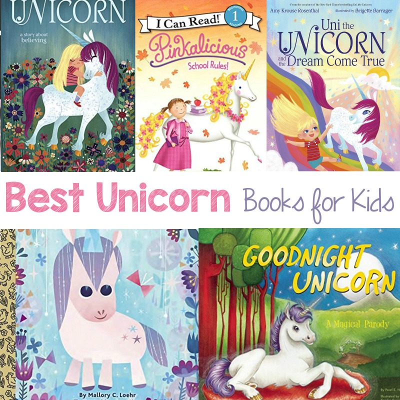12 Magical Unicorn Books for Kids, These Unicorn Picture books will have yourchild's imagination soaring, You'll find Unicorn books for preschoolers and your older children will also enjoy these enchanting Unicorn chapterbooks. Unicorn Books are a greatway to promote reading for any unicorn fan.