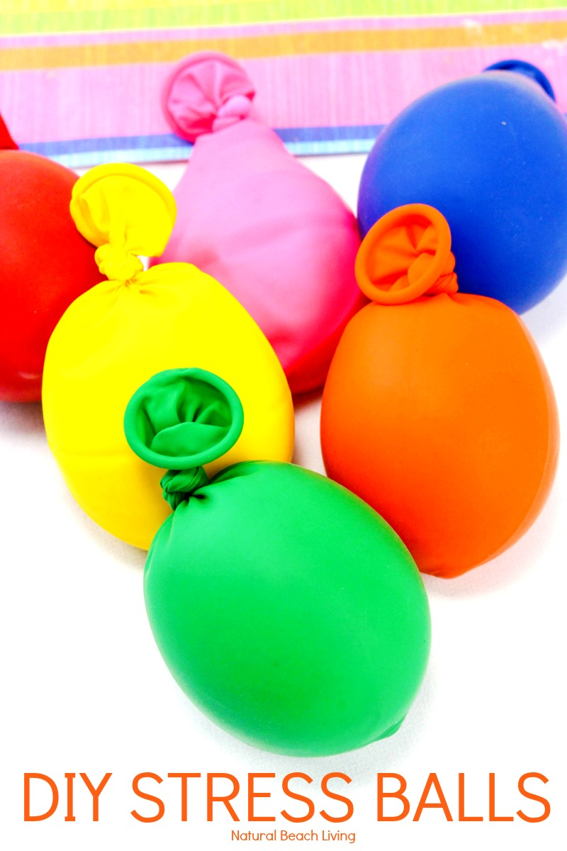 How to make homemade stress balls with slime