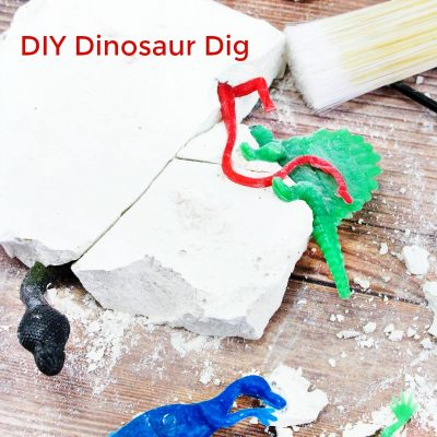 How to Make Dinosaur Dig Excavation for Kids