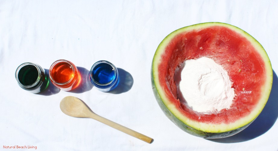 Watermelon Science Activities Baking Soda and Vinegar Erupting Science Experiment, This Hands-on Activity is a perfect Summer Science idea. Kids love this bubbly Volcano Science Activity it also has great Science Videos, Watermelon Activities for Toddlers, Preschoolers, Kindergarten Science