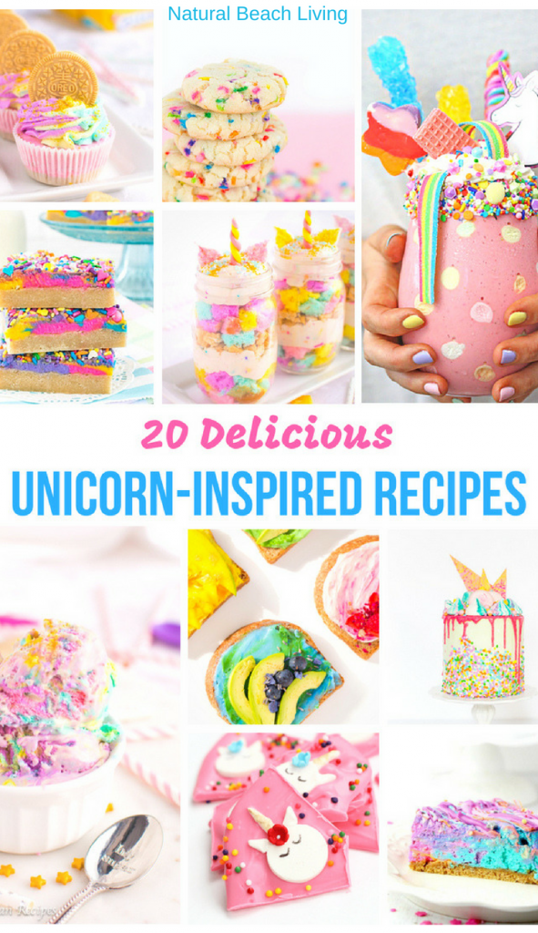 21+ Best Unicorn Recipes to Make for a Party - Natural Beach Living