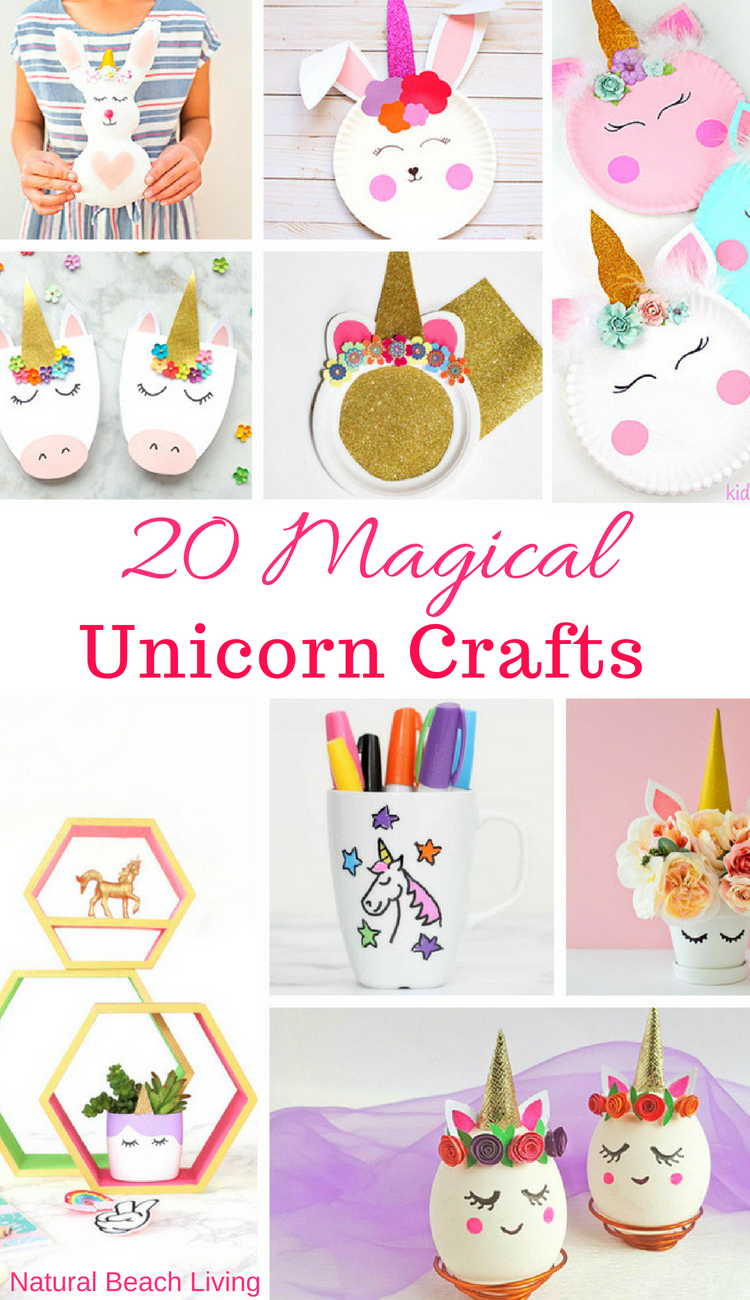 23 Unicorn Crafts For Kids Natural Beach Living
