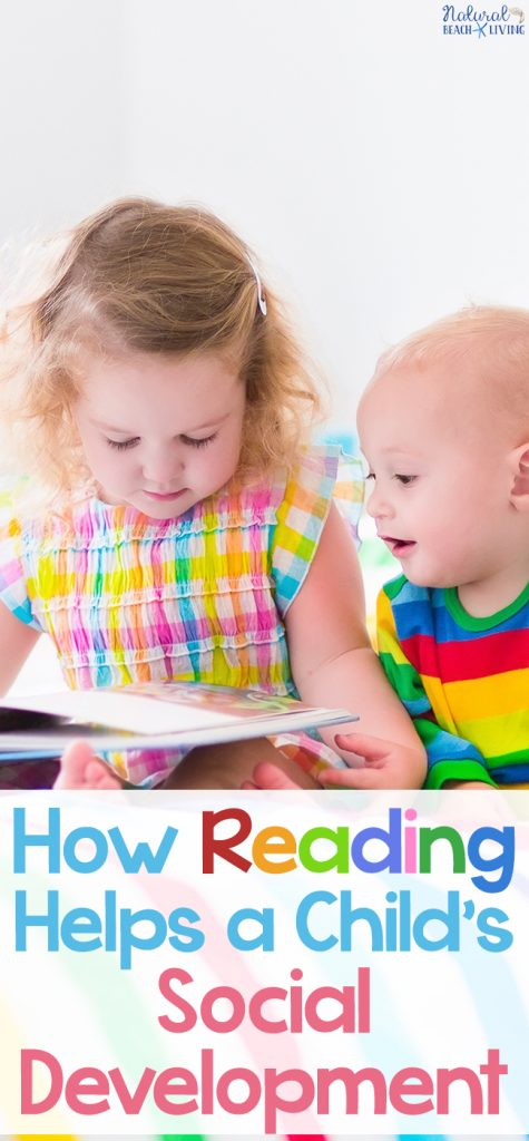 How Does Reading Help a Child's Social Development and Why Books are Important for a Child's Development, Plus Reasons why reading is important and developing a reading habit and a love for books.