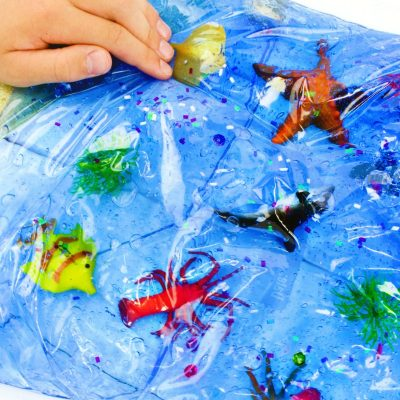 Ocean Life Sensory Bag for Toddlers and Preschoolers