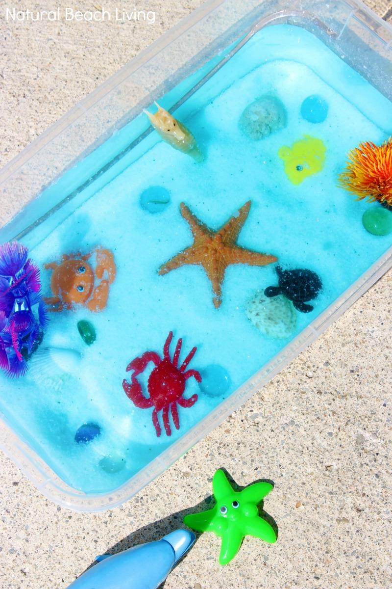 Ocean Sensory Bin – Easy Ocean Activities for Toddlers and Preschoolers