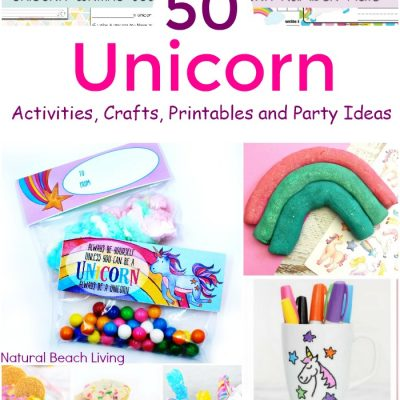 70+ Unicorn Activities, Crafts, Printables and Party Ideas