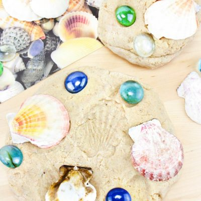 Sand Playdough Recipe – Easy Beach Themed Sensory Play