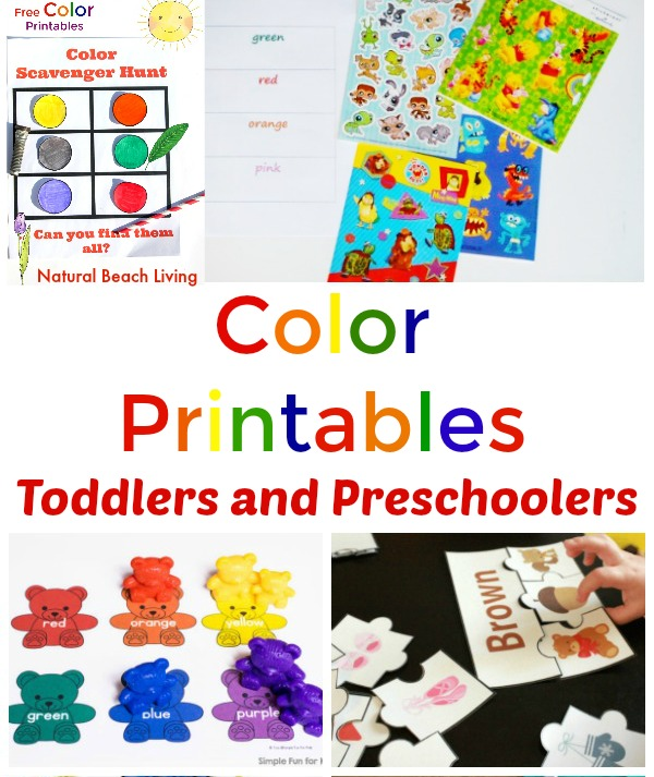 25+ Color Activities and Free Preschool Color Printables, Color Preschool Theme, Color Activities Printables, learning colors printables and worksheets, Color Activities for Preschool, and Preschool Color Worksheets