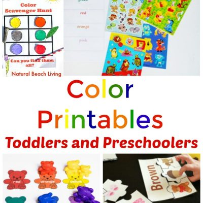 25+ Preschool Color Activities Printables – Learning Colors Printables
