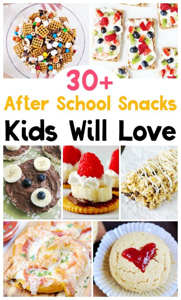 These 30 AFTER SCHOOL SNACKS THAT KIDS WILL LOVE ARE SOME OF MY FAVORITE SNACK RECIPES, 30+ School Snacks Kids Love, Healthy School Snacks for Kids, Yummy Snacks for Kindergarten