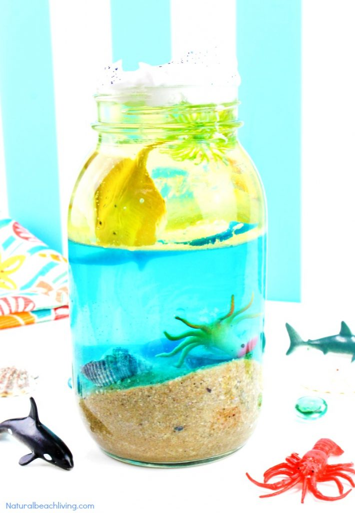 Ocean Science for Kids - Easy Ocean Life Experiment Kids ...