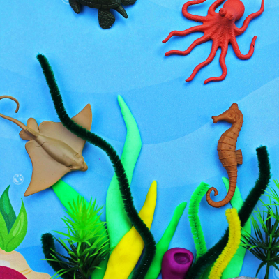 Coral Reef Activities for Preschoolers and Kindergarten