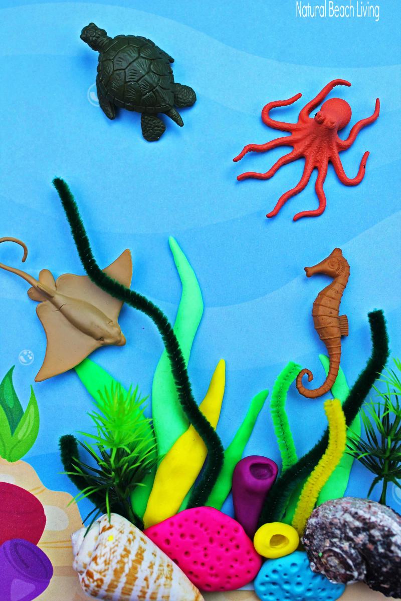 Coral Reef Activities for Preschoolers and Kindergarten