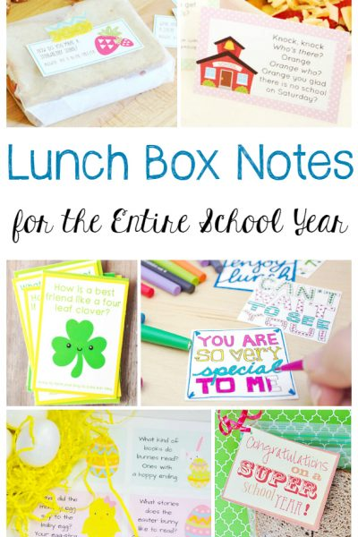 35+ Lunch Box Notes and Jokes For The Entire Year